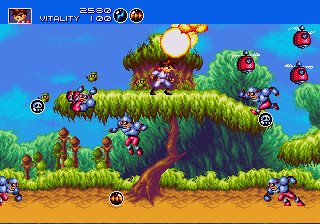 Gunstar Heroes - Mega-Tech