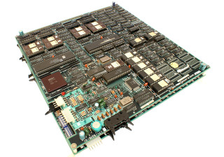 Out Run PCB