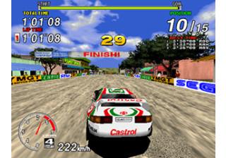 SEGA Rally - Model 2