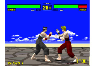 Virtua Fighter - Model 1
