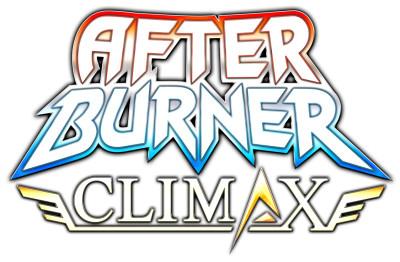 After Burner Climax Logo