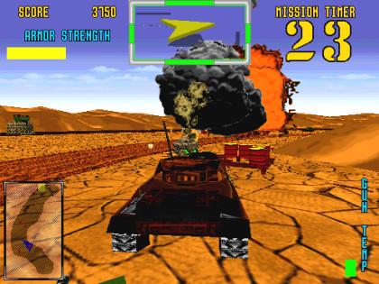 Desert Tank Screenshot